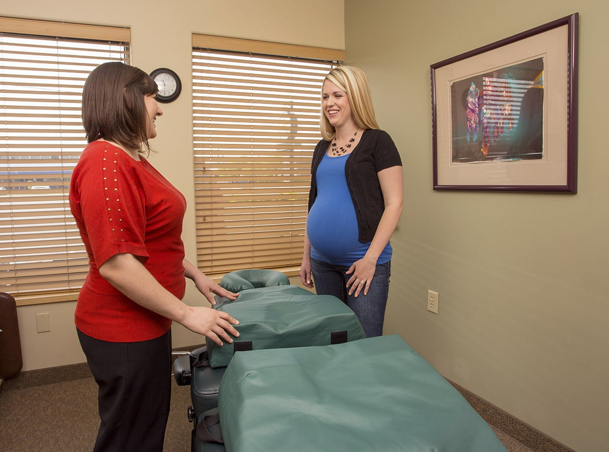 Pregnancy and Chiro - patient comfort